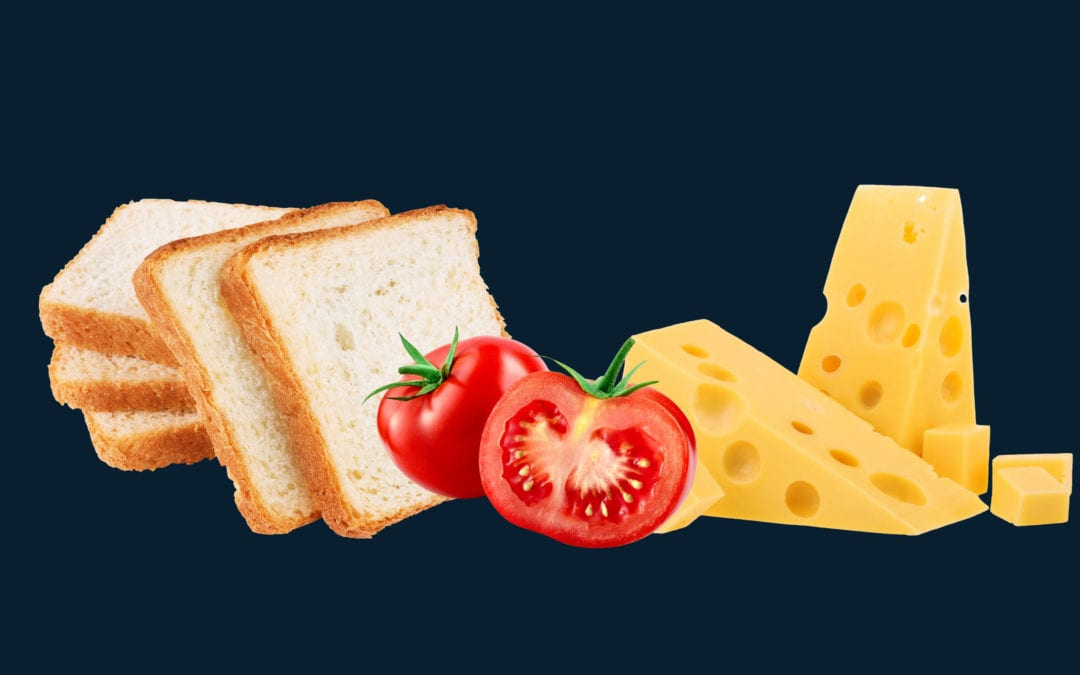 Collaboration with Cheese & Tomato Sandwiches